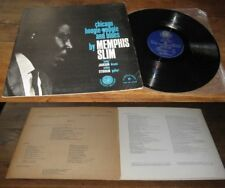 MEMPHIS SLIM – Chicago Boogie-Woogie And Blues LP ORG French Press 63' Blues