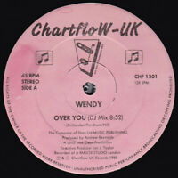 Wendy – Over Vous Rare Vinyle 30.5cm Simple GB Chf 1201 1988