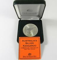 1996 KANGAROO Silver Coin Post Office Issue