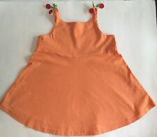 Gymboree Cherry Baby Orange Tank Swing Top Girl Sz.8 VGC