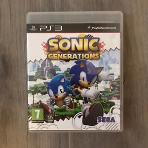 PS3 Sonic Generations Game