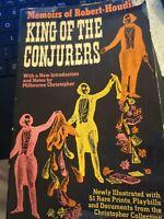 King of the Conjurers: Memoirs of Robert-Houdin Paperback 1964