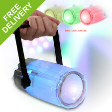 LED DJ Light Multi-Colour Cluster Moonflower 2 in One Effect Disco Lighting