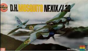 AIRFIX MOSQUITO NF XIX/J30 DECAL SET