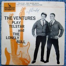 THE VENTURES- EP Australian Pressing-Telstar /The Lonely Bull- 1962- PIC SLEEVE