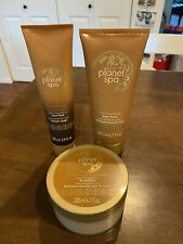 3 Avon Planet Spa Pampering Chocolate Items   Face Mask   Body Whip   Body Wash