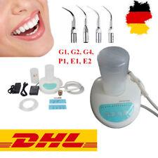 Détartreur Dentaire Ultrasonique Piezo Scaler + Bouteille d'eau + 6 Tips fit EMS
