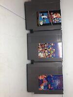 Nintendo NES Super Mario Bros/duck hunt, Tetris, & DR. Mario  3 game lot