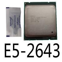 Intel XEON E5-2643 3.30GHz LGA2011 CPU Processor