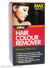 Hair Dye Colour Remover Max Strength JoBaz Removes Colour Build up and Dark Dyes