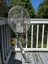 Vintage Dayton 20 Oscillating 2 Blade Industrial Fan Model 4c354f 14hp 115v