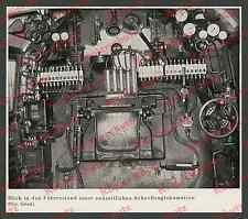 Reichsbahn Stromlinien-Lokomotive BR 05 Führerstand Technik Borsig Berlin 1935!!