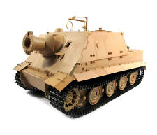 1:16 Mato German Sturmtiger Rc Tank Infrared 2.4Ghz Metal Edition Desert Yellow
