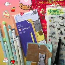 KAWAII LOT - Japanese & Korean Snacks Pokemon Candy Stickers Stationery Ramune