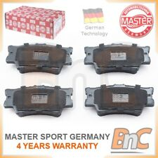 GENUINE MASTER-SPORT GERMANY HEAVY DUTY REAR BRAKE PADS FOR TOYOTA