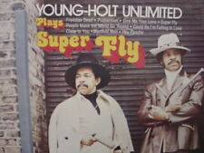 THE YOUNG HOLT TRIO SUPERFLY BRUNSWICK RECORDS LIMITED EDITION NO BARCODE JACKET