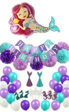 Mermaid Party Pack Decorations Under the Sea Birthday Party Theme