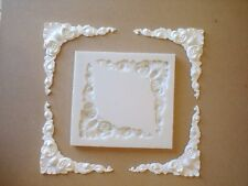***** SILICONE RUBBER MOULD ORNATE CORNERS PICTURE MIRROR FRAME *****
