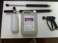 Kit de lanza de espuma de Nieve Espuma De Nieve Plus para la mayoría de las máquinas de lavado a presión/Jet Karcher