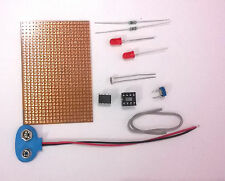 LM358 Dark / Light  Detector Circuit Kit..