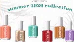 Essie Nail Polish BUSTLING BAZAAR Brand New Summer 2020 Full set 6 pcs