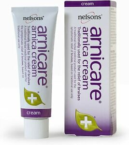 Nelsons Arnicare Arnica Cream 50g, Natural Herbal Remedy First Aid Bruises