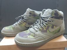 LIMITED EDITION Nike x Stussy Sky Force 88 Mid Olive - Size 9.5
