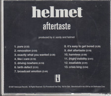 helmet aftertaste cd promo