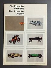 """1960 Porsche """"The Porsche Album"""" Christophorus Insert Tan Folder RARE!! Awesome"""