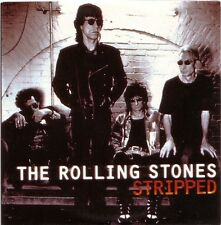 """Rolling stones """"stripped"""" rare uk 14 track promo CD"""