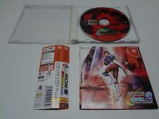 Capcom VS SNK 2 Millionaire Fighting 2001 W/Spine Sega Dreamcast Japan