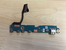 """TOSHIBA 12.5"""" U920T U925T Genuino Botón De Alimentación USB BOARD + CABLE FLX0UB1 A3355A"""