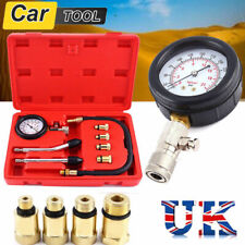 8 PCS DIESEL PETROL ENGINE COMPRESSION PRESSURE TESTER KIT FOR AUTO MOTORCYCLE