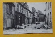 S259B) CPA SOISSONS guerre 1914 - une rue