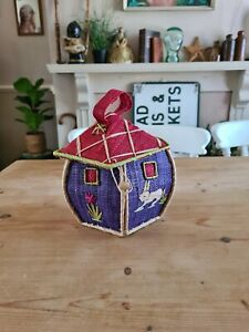 Cute Vintage Pentagon Shaped Basket House Bag