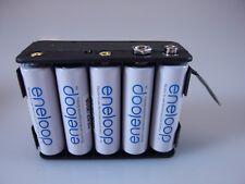 Roland V-Accordéon - 12 V Batterie-Pack pour Roland fr3x + fr4x avec 10 Batteries 1900 mAh