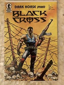 Dark Horse Presents #1 (1st App. Concrete & Black Cross)