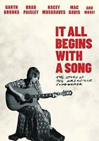 It All Begins With A Song: The Story Of A Nashville Songwriter [New DVD]