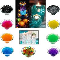 WATER AQUA SOIL CRYSTAL BIO GEL BALL BEADS WEDDING VASE FILLER CENTERPIECE ROYAL