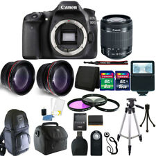 Canon EOS 80D 24.2MP Digital SLR Camera with 18-55mm Lens + Gread Value Kit