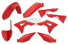 POLISPORT SET PLASTIQUE COMPLET CROSS MX ROJO HONDA CRF 250 R 2018
