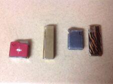 New listing Vintage Lot Firebird Azalea Unknown Lighters 4 Total Free Ship