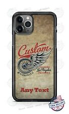 Custom Motorcycles California Phone Case Cover For iPhone Samsung A20 Google LG