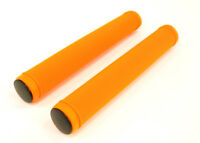 Track,Fixie,FIxed Gear Road Bike/Stunt Scooter Handlebar Drop Bar Grips Orange