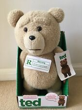"""Official TED The Movie 16"""" Talking Plush Toy Bear - X Rated"""