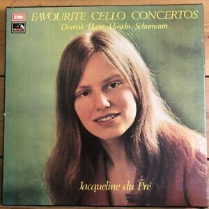 SLS 895 Favourite Cello Concertos / Du Pre 3 LP box set