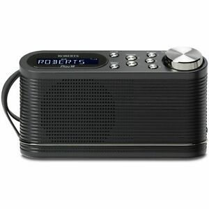Portable DAB Radio Roberts Play10 DAB+ FM Radio Battery Or Mains Digital Radio