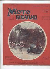 Moto Revue N°596  ; 11 aout 1934: 10 croquis sur les beaux moteurs français