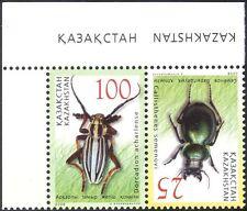 Kazakhstan 2008 Beetles/Insects/Nature/Wildlife 2v set (n44306)