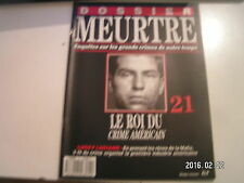 ** Dossier meurtre n°21 Lucky Luciano Le roi du crime Américain